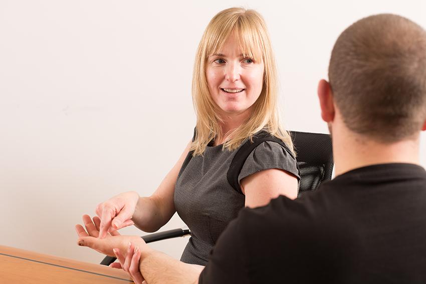 Sea-recruitment-woman-sign-language-photograph