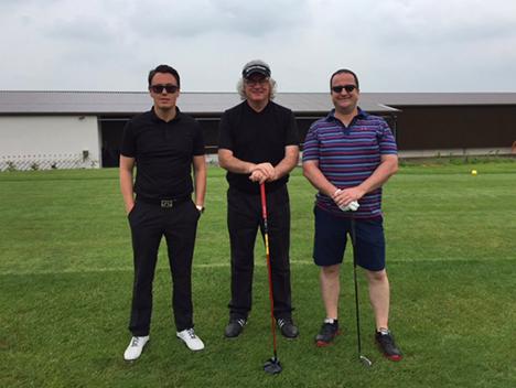 Charity Golf golfers