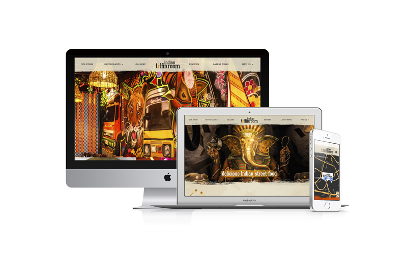Indian Tiffin Room new website