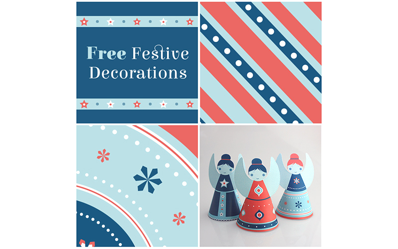 free christmas decoration download