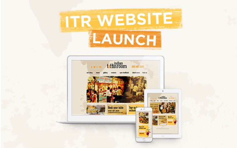 indian tiffin room website launch