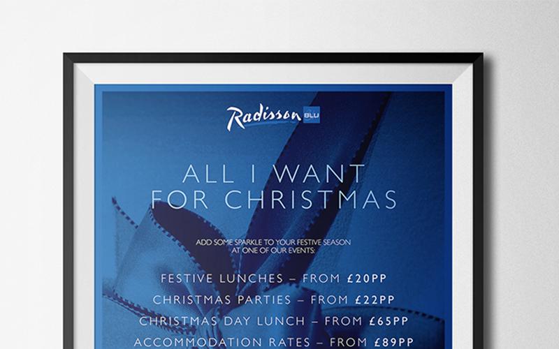 Radisson Christmas marketing