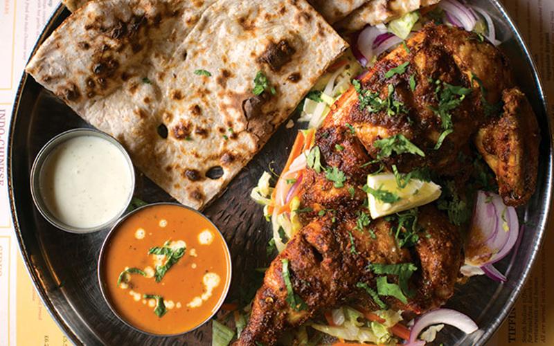 indian tiffin room photoshoot food