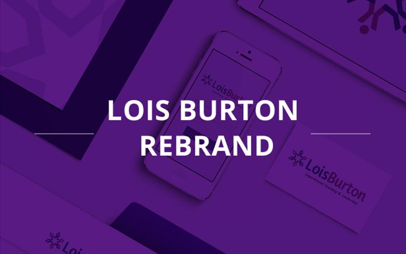 Lois burton rebrand
