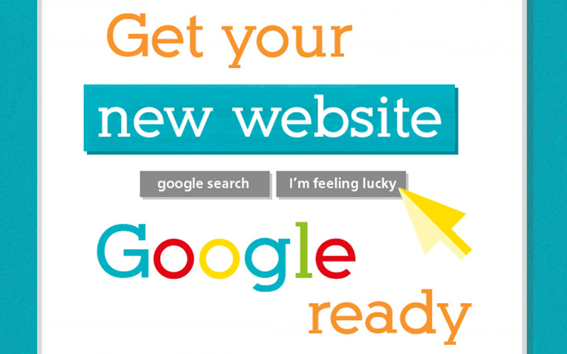 get your new website google ready