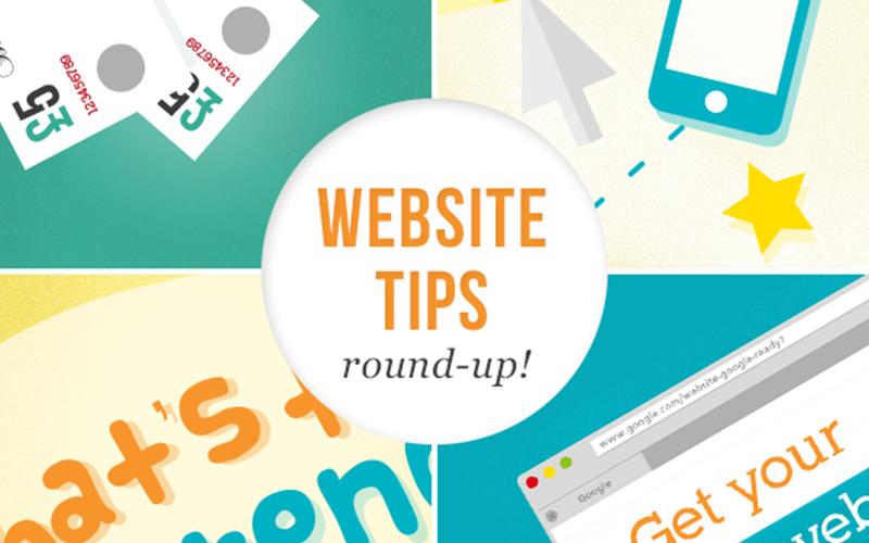 website tips round up