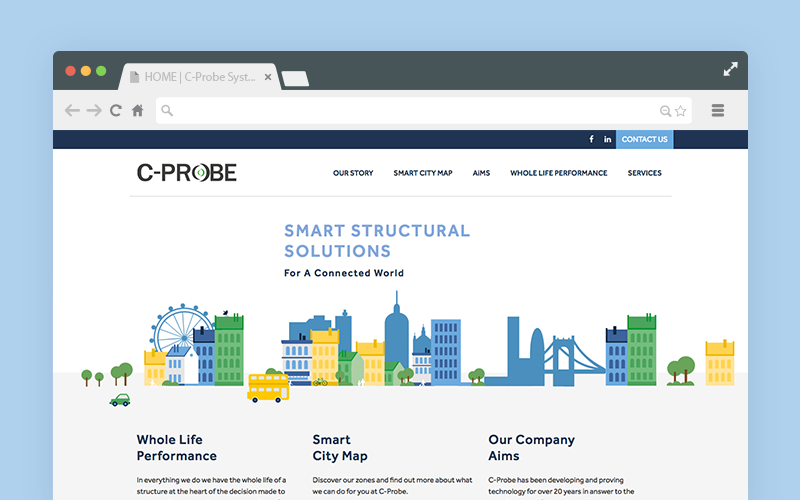 C-probe-website-in-browser