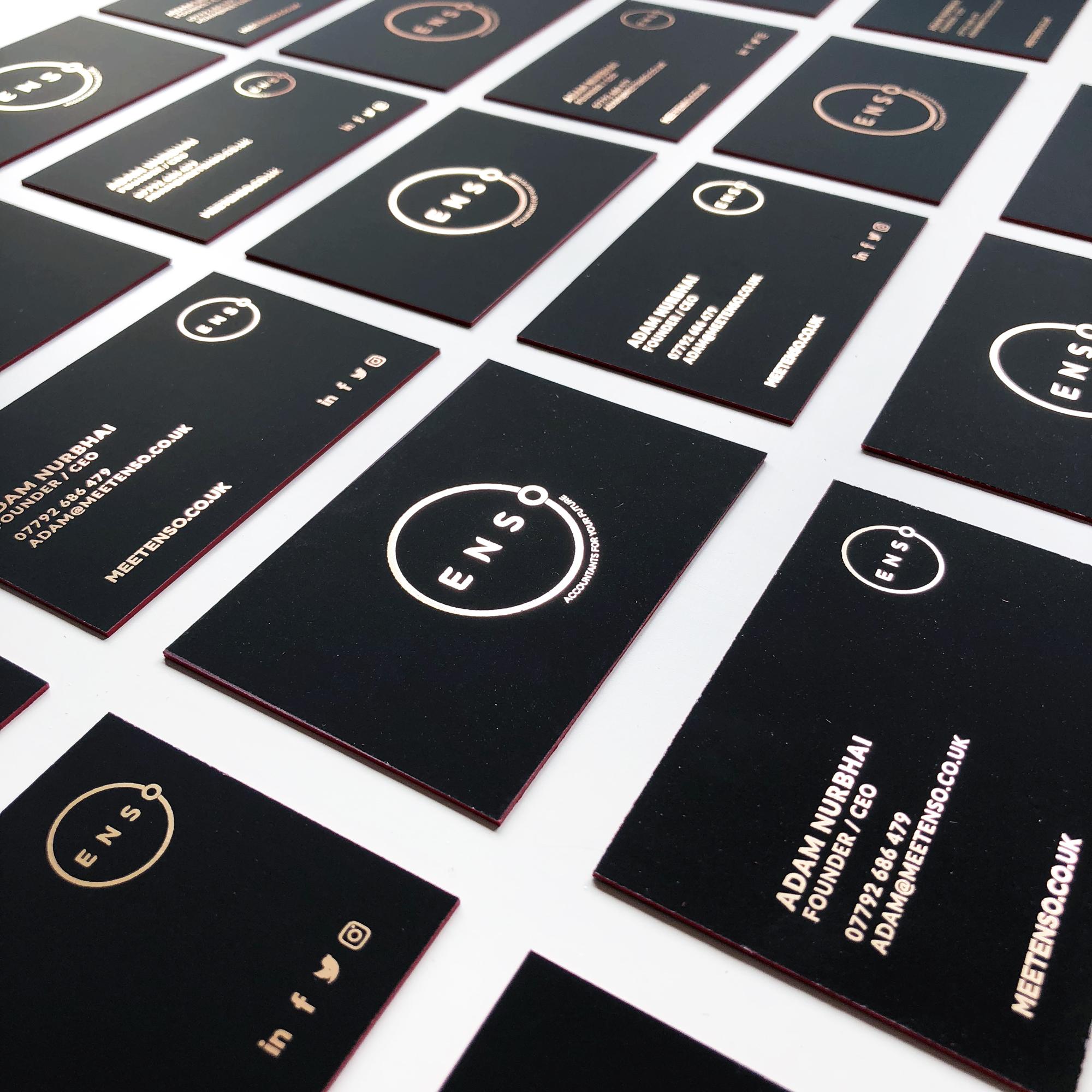 Enso-Business-Foil-Cards