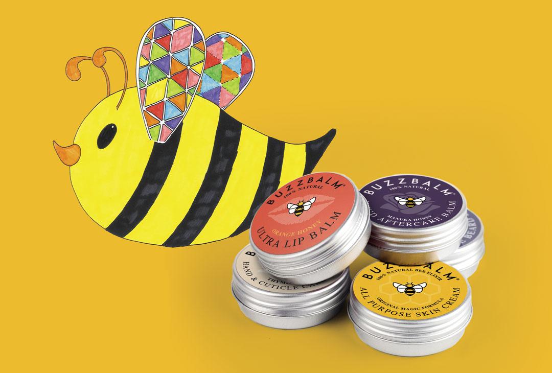 BuzzBalm-Collaborates-With-The-Hive