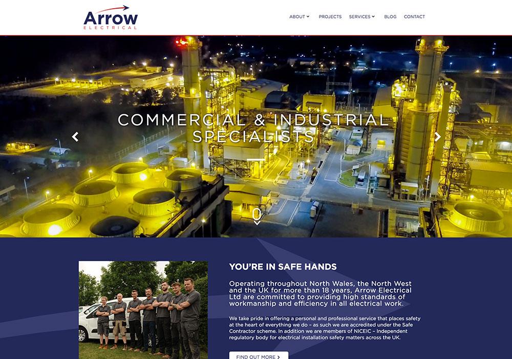 Arrow-Website-Design