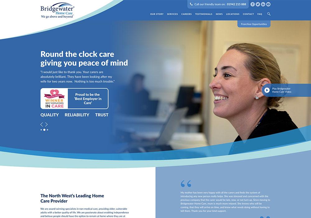 Bridgewater-Website-Design
