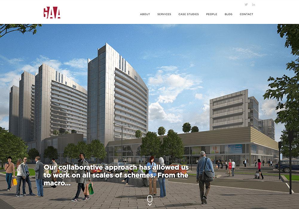 GAA-Website-Design