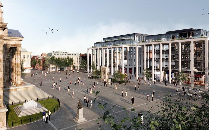 Bolton Crompton Square New Development CGI