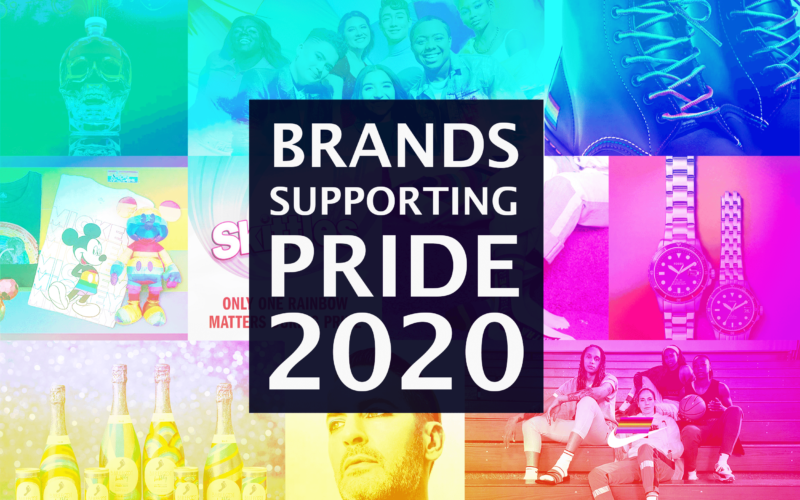 brands supporting pride 2020