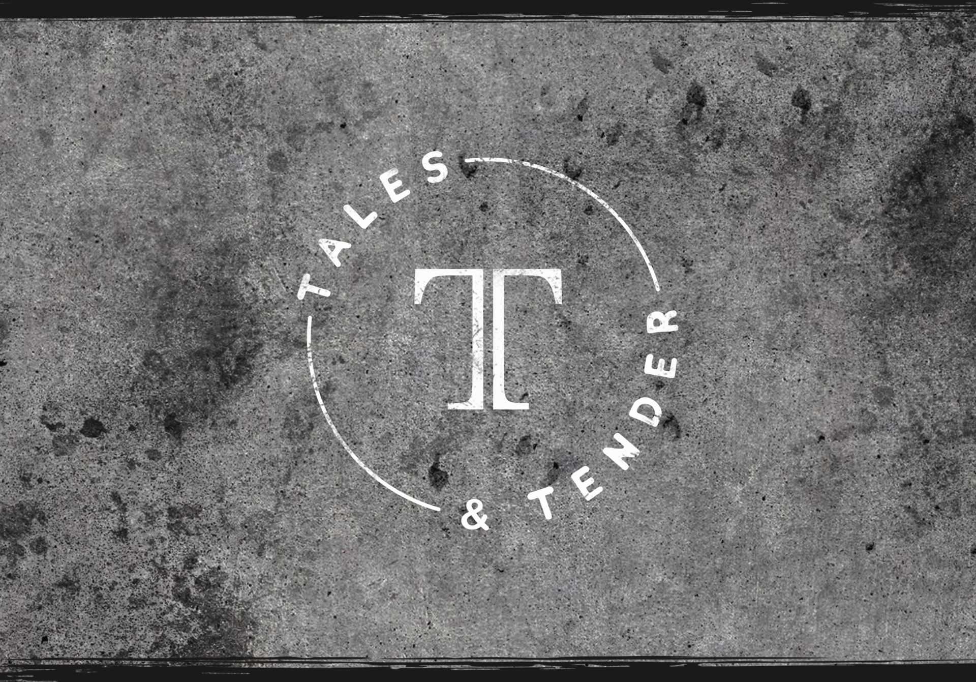 featured image tales and tender logo and branding