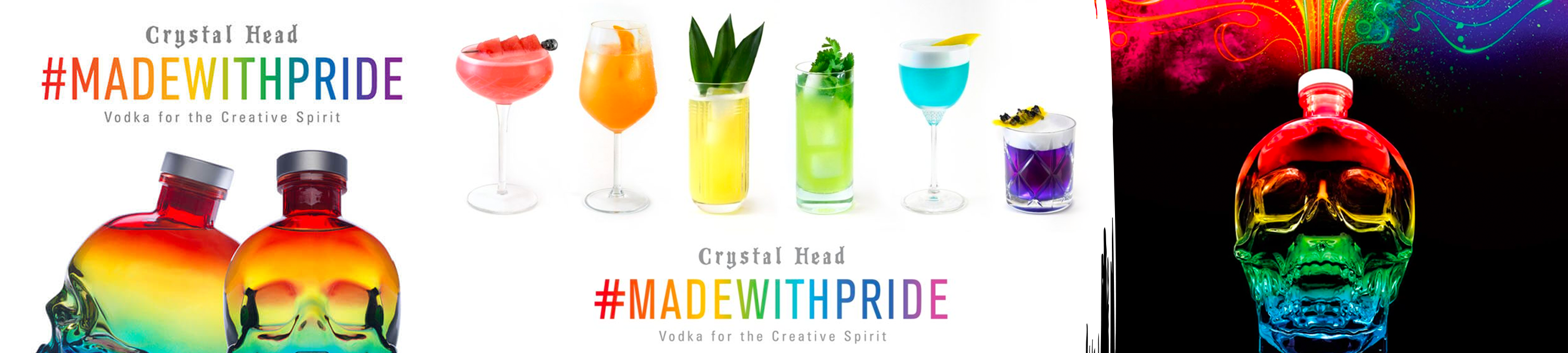 made with pride 2020 collection crystal head vodka