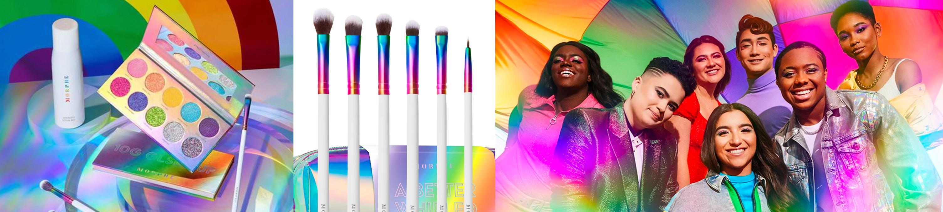 morphe rainbow collection pride 2020