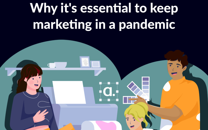 agency marketing advertising pancdemic featured office illustration