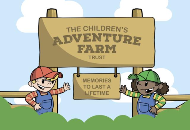 The Children's Adventure Farm Trust Graphic Design Case Study by The Agency Creative