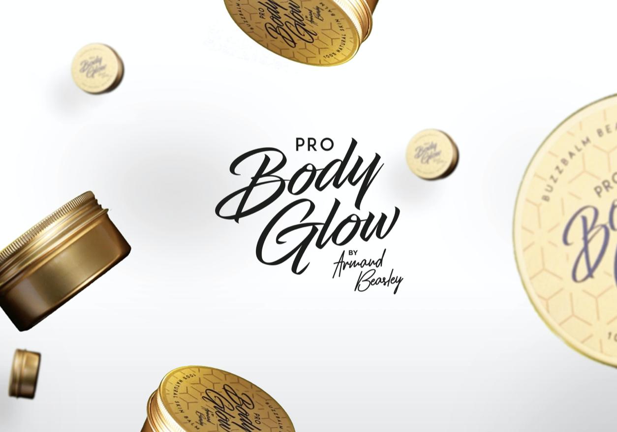 Pro Body Glow Logo Design Case Study by The Agency Creative