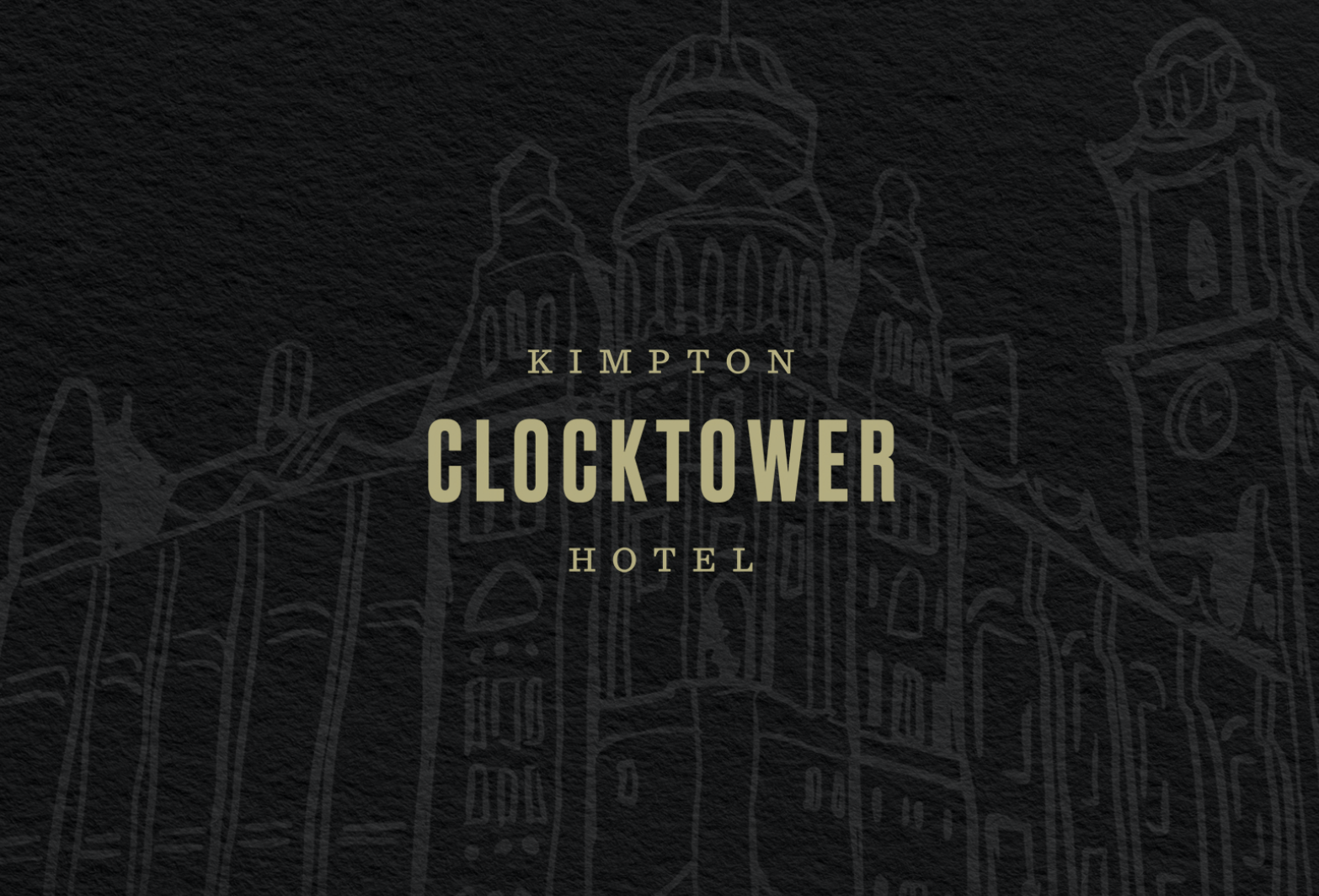 Kimpton Clocktower Hotel Printed Material by The Agency Creative