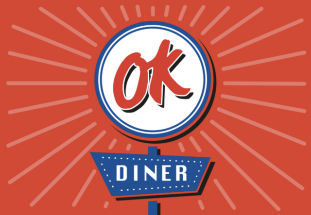 OK Diner Printed Material by The Agency Creative