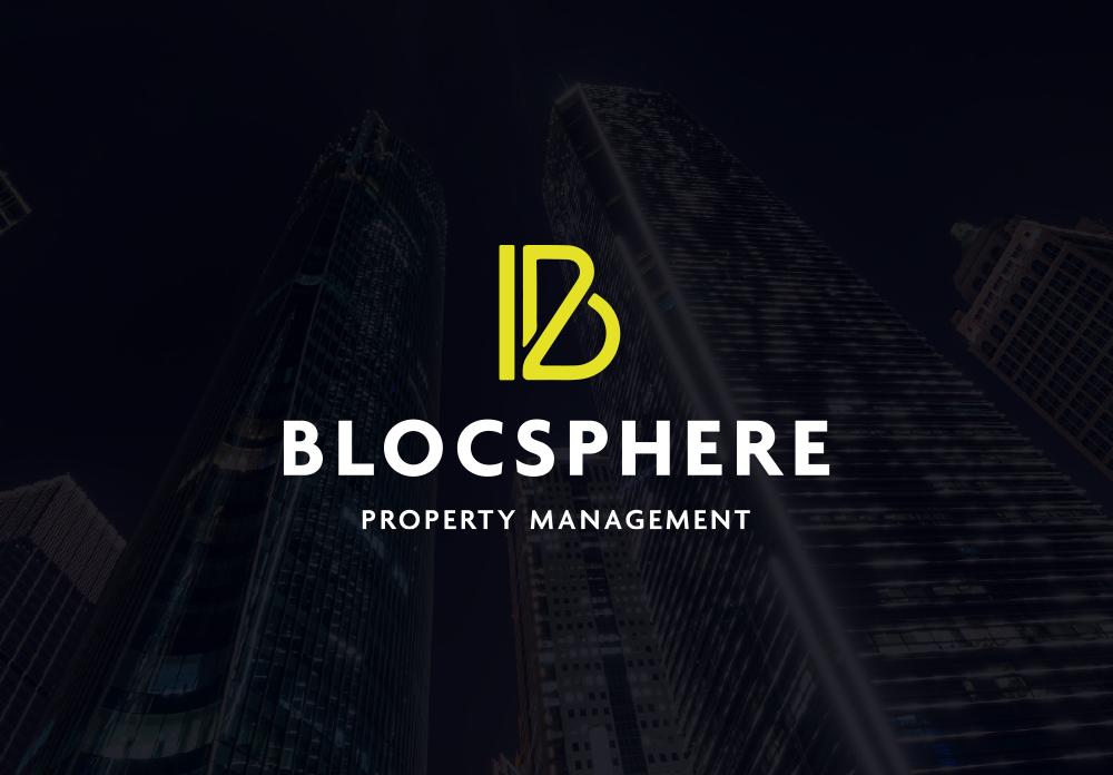 blocsphere property management branding manchester design logo website development