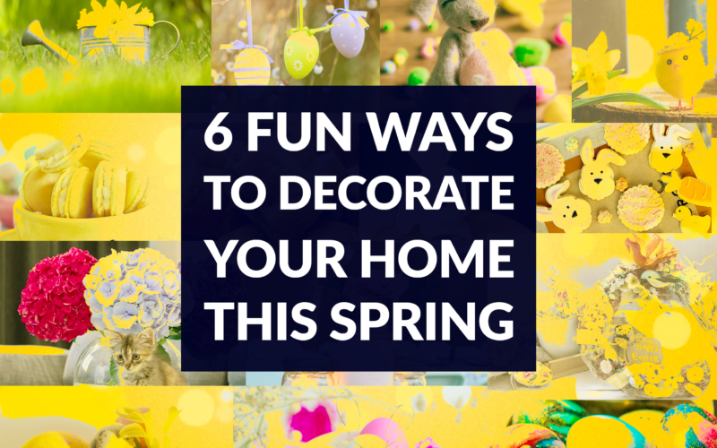 spring decorating home ideas diy craft easter